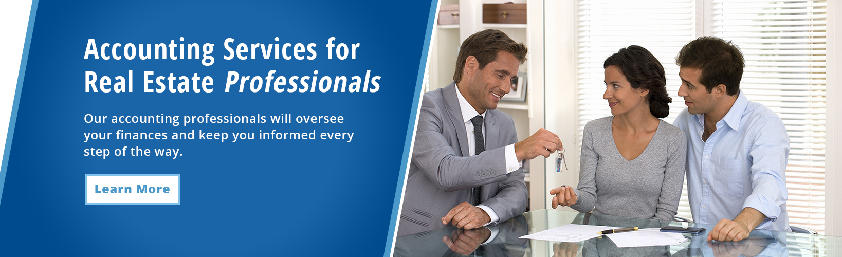 Accounting for real estate professionals